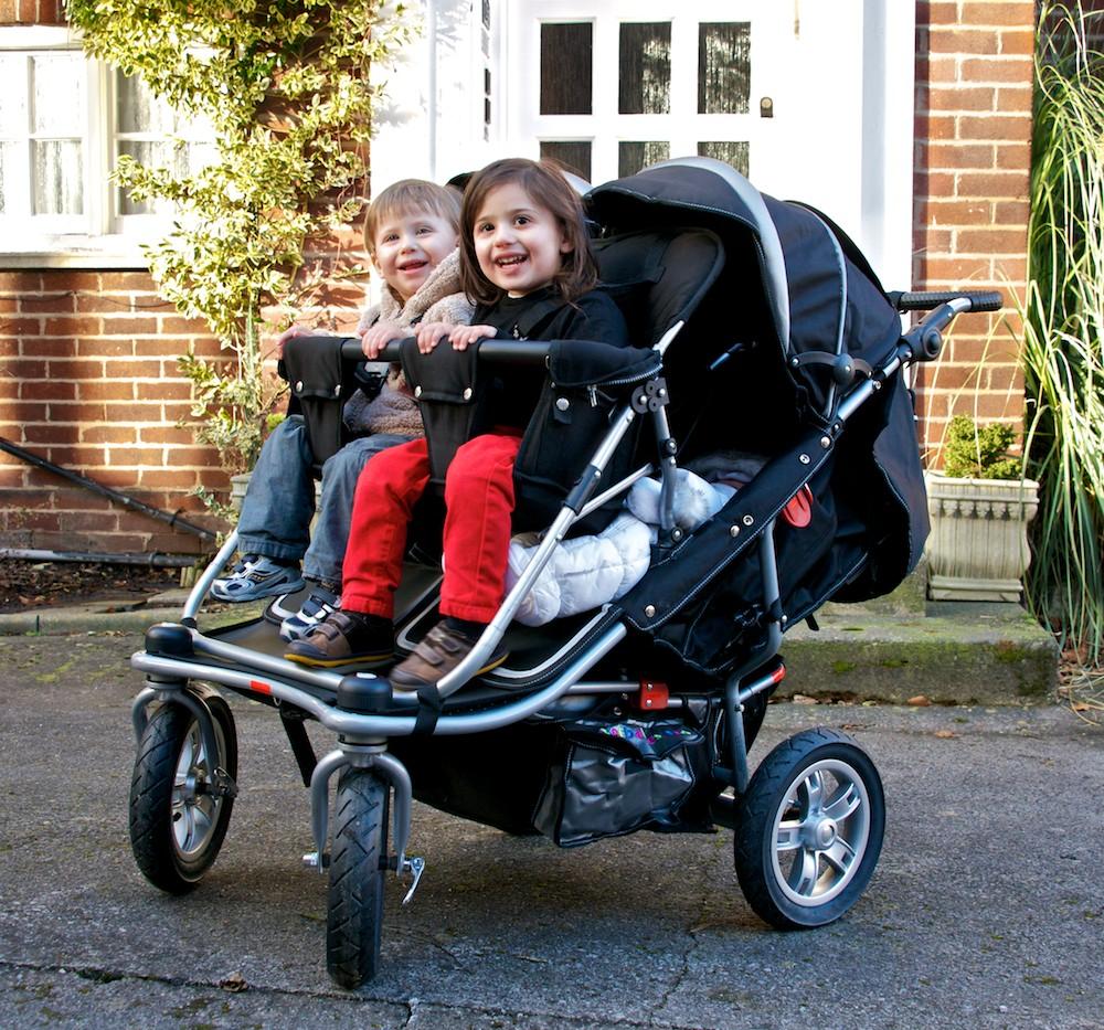 Quad Pushchair T4 Quad Stroller Ultimate Quad Buggy