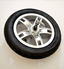 Pushchair front wheel