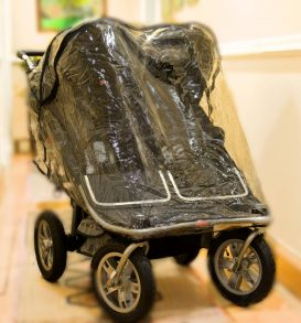 Double buggy Shower hood