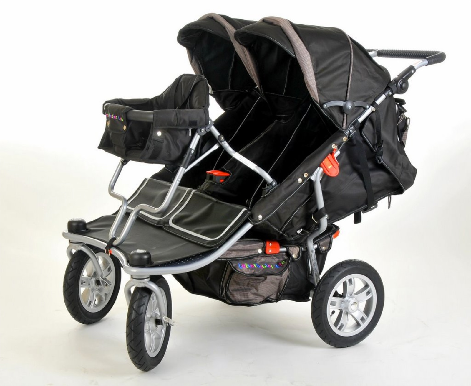 Triple Pushchair T3 Triple Buggy Only 29 5 Quot 75cm Wide