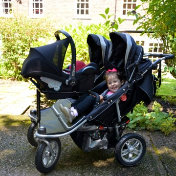 Newborn car seat frame